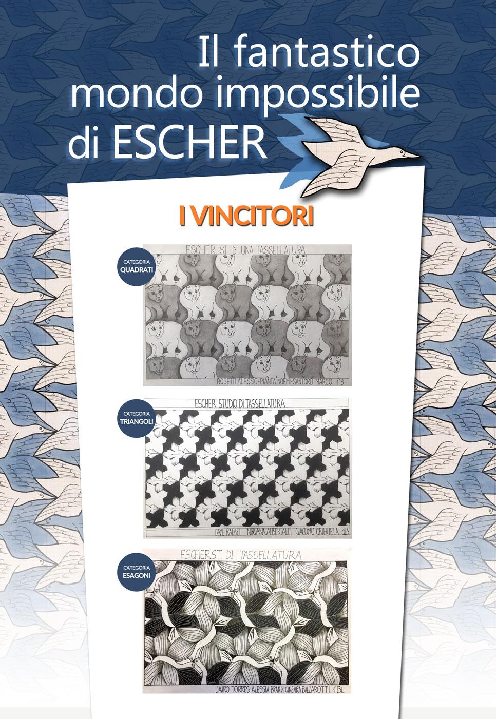 Vincitori Escher