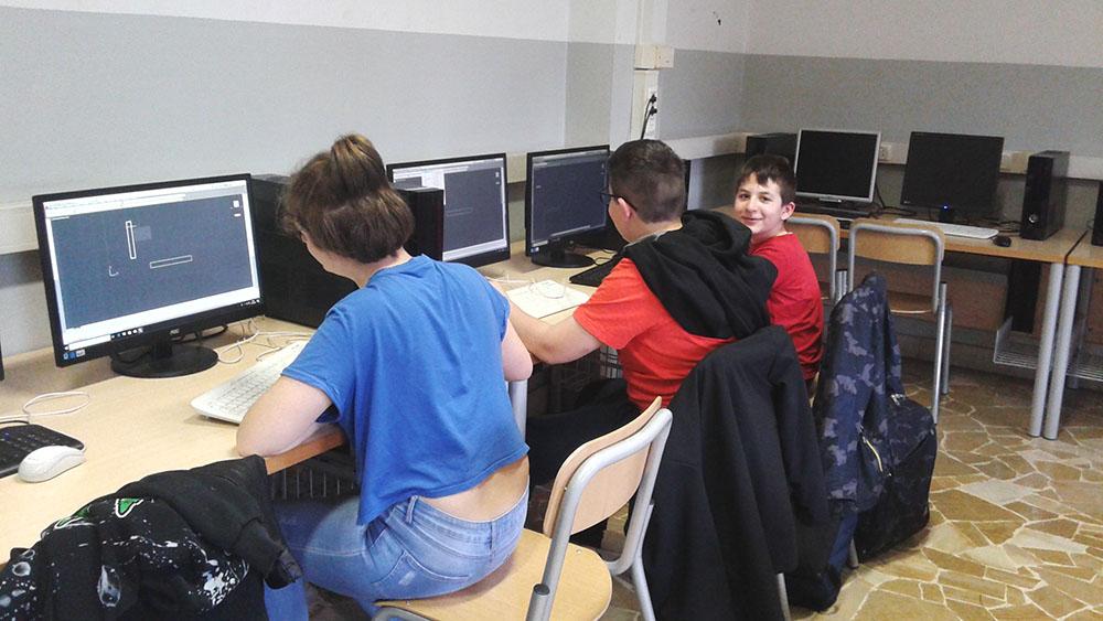 Lab in rete - CAD