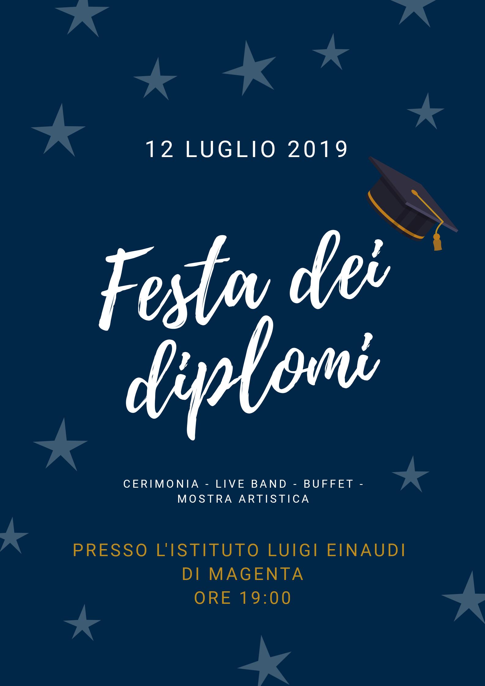 festa dei diplomi-Einaudi-Magenta