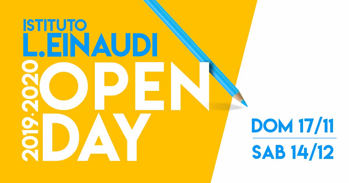 Open Day Einaudi