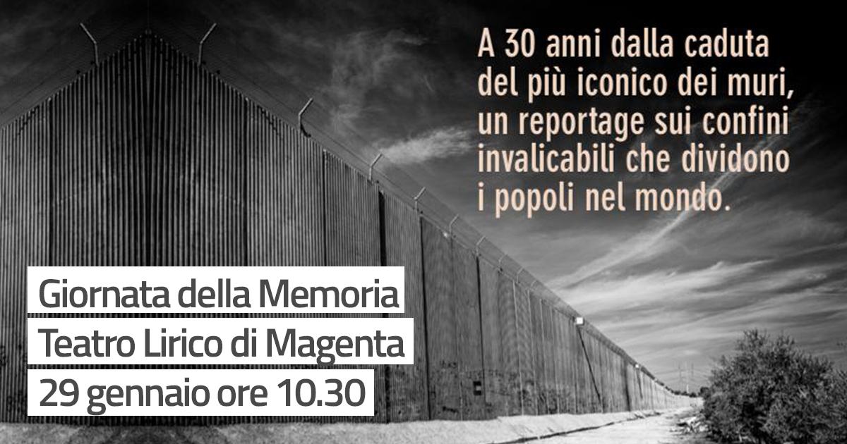 Giornata della Memoria Teatro Lirico di Magenta 29 gennaio ore 10.30