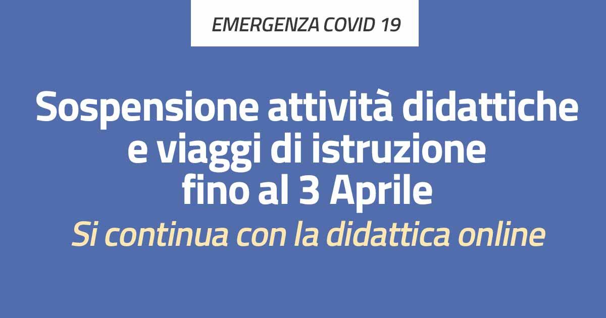 Circolare n. 241 – Emergenza Coronavirus – Disposizioni conseguenti al DPCM 08/03/2020